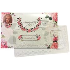 Scarlett Rose Crafts Diamond Trails Love Plate with Handle