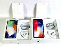 Original iPhone X box only with Accessories Used Retail Box Silver Space Gray