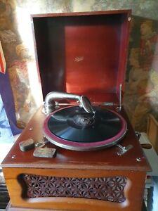 Vintage Pathe Record Player