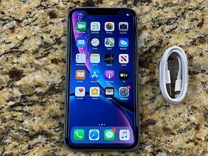 Apple iPhone XR - 64GB Blue (Verizon) A1984 (CDMA + GSM) CLEAN ESN +WARRANTY #18