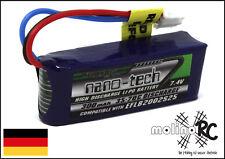 1x Turnigy nano-tech 300mah 2S 35~70C NEU Lipo Akku 7,4V E-flite micro