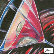 "James Wing""Multi Martini"" Giclee on Canvas w/coa 11/250 was selling for $540"