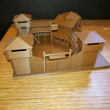 Theme Park Fort For Olszewski Main Street Platform 3D Printed N-scale