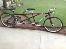 "KHS TANDEM BIKE 26"" WHEELS IN NICE CONDITION CAPTAIN 18 1/2"" X  STOKER 16"" NICE"