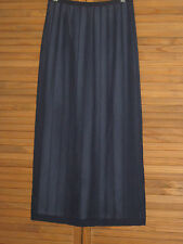 Norton McNaughton Petites Navy Blue Shear Lined Skirt Size 4P #CL202