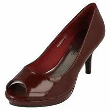 Patent Leather Casual Slim Heels for Women