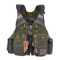 Fishing Life Vest Outdoor Sport Men Survival Camping Swimming Jacket Multi Hunt