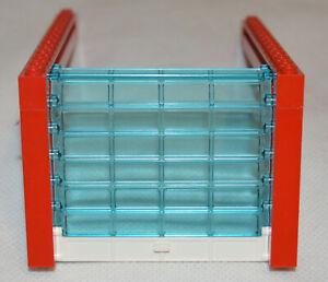 LEGO Garage Door With Shutters Sliding Bricks & Red Frame Roller 4218