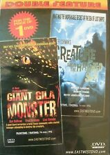 GIANT GILA MONSTER / CREATURE FROM THE HAUNTED SEA. 2 FILMS (DVD) . FREE UK P+P