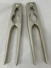 Lot of 2 Crab Claw Lobster Claw Shell Cracker Steel Metal