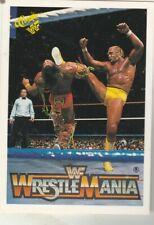 FREE SHIPPING-MINT-1990 Classic WWF: Wrestlemania #132 Hulk Hogan +BONUS CARDS