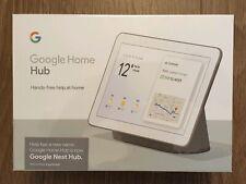 Google Home Hub UK Plug - Charcoal
