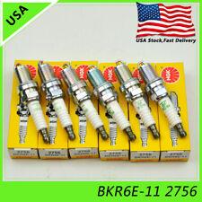 Set 4 Spark Plugs NGK BKR6E-11 2756 For Toyota Mitsubishi Chevy Subaru Suzuki