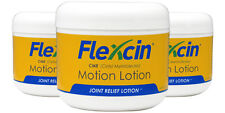 Flexcin with CM8™ Motion Lotion (3-Pack) - All Natural Joint Pain Relief Lotion