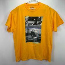 Merch Traffic Mens Ice Cube Impala Graphic T-Shirt Yellow 2XL