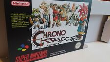 Chrono Trigger  - Repro box with insert - NTSC or PAL REGION - SNES.