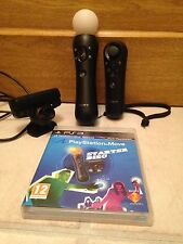 SONY PS3 MOVE MOTION & Navigation Controller, EYE CAMERA & Starter Disc.