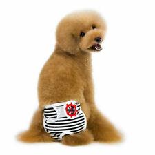 Hundehose waschbar Hygieneunterhose, Schutzhose aus Baumwolle für Hündin Gr.S