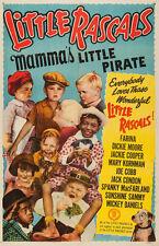 "Little Rascals Mamma's Little Pirate Movie Poster Replica 13x19"" Photo Print"
