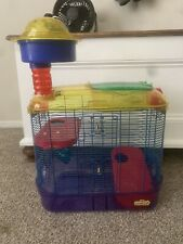 Hamster Cage, Bedding, And Food