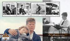 Sierra Leone- Pres. John F. Kennedy 50th Memorial Anniv. Stamp - Sheet of 4 MNH