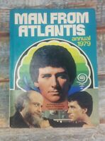Man From Atlantis Annual 1979 Vintage Hardcover/Hardback good condition