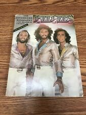 Vintage Bee Gees Authorized Biography First Printing Softcover 1979 No Poster