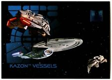 Kazon Vessels #54 30 Years Of Star Trek Phase 1 Skybox 1995 Trade Card (C1034)