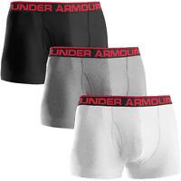 """Under Armour Mens Original 3"""" Boxerjock Boxer Briefs Sports Underwear"""