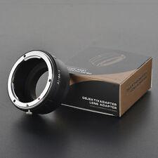 LEINOX AI-M4/3 Adapter Ring Nikon AI/AIS/D Lens to Micro 4/3 Body GH4 BMPCC