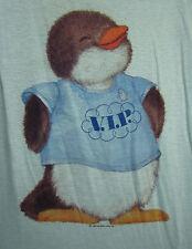 SHIRT TALES Penguin vtg girls nightgown OG size 12 Hallmark 1980 Critter Sitters