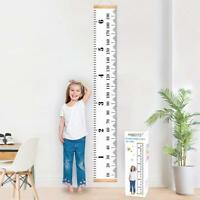 Toise amovible à suspendre dans une chambre d'enfants Hauteur réglable 200 x 20