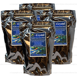 Hydra Crystal (Pond Green Water Treatment) safe with fishes and animals 4X1Kg