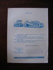 Traktoroeksport Skriepier D-498 Prospekt / Brochure, UdSSR / Soviet Union