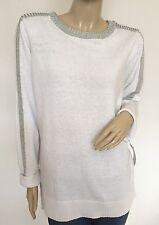 NWT $60 LIZ CLAIBORNE Authentic Fashion Graphic Spectrum Sweater Tunic, Size 2X