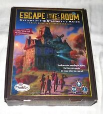 Escape the Room Board Game Complete Mystery at the Stargazer's Manor