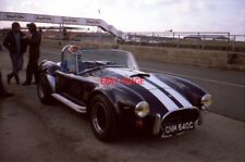 PHOTO  AC COBRA SILVERSTONE 7.3.86 RAY MALLOCK IS THESE DAYS BOSS OF A LARGE AND