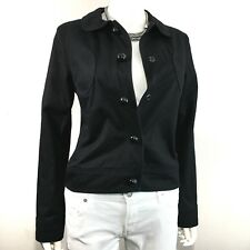 Marc Jacobs • 100% Cotton • Peter-Pan Collar • Denim Black Jacket, Size 6, $695