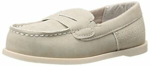 BOY'S CARTER'S *SIMON* KHAKI LOAFERS SIZE TODDLER
