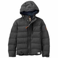 A1OP4028 TIMBERLAND MEN'S GOOSE EYE TWILL DOWN JACKET ALL SIZES