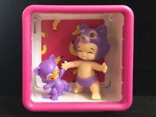 TWOZIES Two Cheeky JOJO & BINGO Baby and Pet set *** with Shadow Box ***