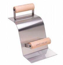 Kraft Tool Concrete Curb & Gutter Trowel Stainless Steel 90-Degree Gutter 21455