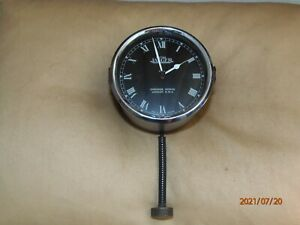 """Vintage Jaeger car clock, """"Chronos Works"""", 1930s, 8-day, working well."""