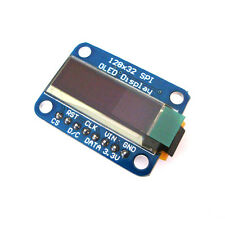 "0.91"" SSD1306 128X32 SPI OLED Module White Graphic Display for Arduino"