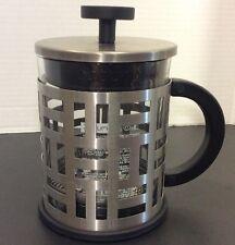 Bodum French Press Glass Stainless Steel Coffee Pot
