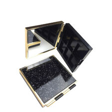 Hot 6-Grid Empty Magnetic Makeup Palette Wood DIY Eyeshadow Blusher Case Holder