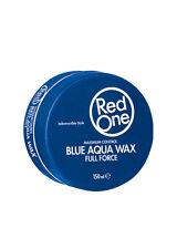 3 x Red One Blue AQUA HAIR WAX 150 ML Full Force RedOne Results Like Muk