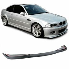 SPLITTER FRONT LIP BUMPER SPOILER FOR BMW E46 COUPE CABRIO M3 SERIES 3 NEW
