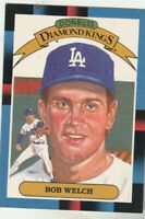 FREE SHIPPING-MINT-1988 Donruss #24 Diamond Kings Bob Welch  Dodgers