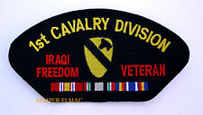 1ST CALVARY DIVISION IRAQI FREEDOM VETERAN EMBROIDERED PATCH US ARMY FIRST TEAM